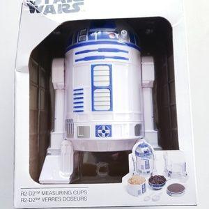 Disney Star Wars R2-D2 Measuring Cup Set Brand New